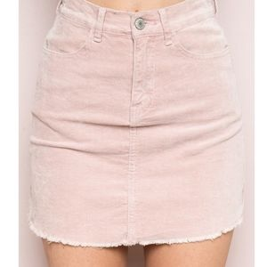 Brandy Melville pink skirt